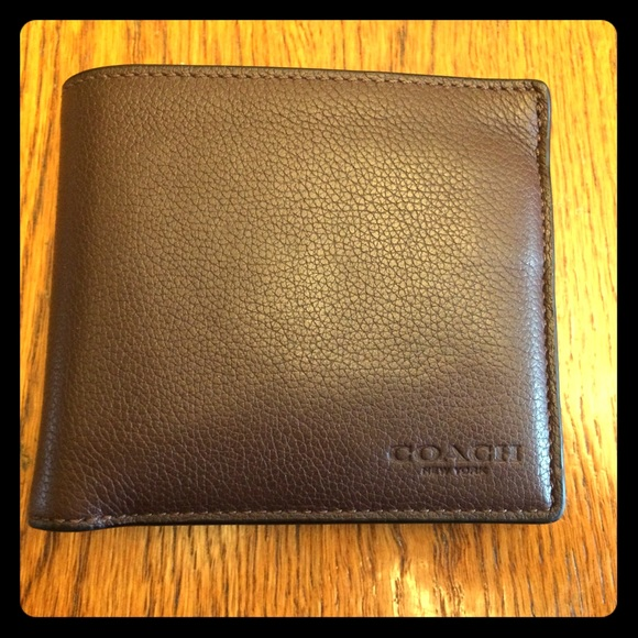 7c5f10db8cdef Coach Other - Coach New York Men s Double Billfold Wallet